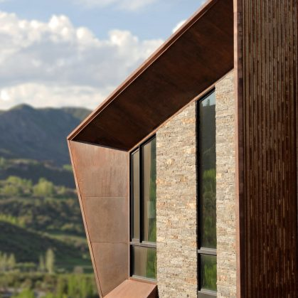 Owl Creek, una casa entre el cielo y las montañas 7