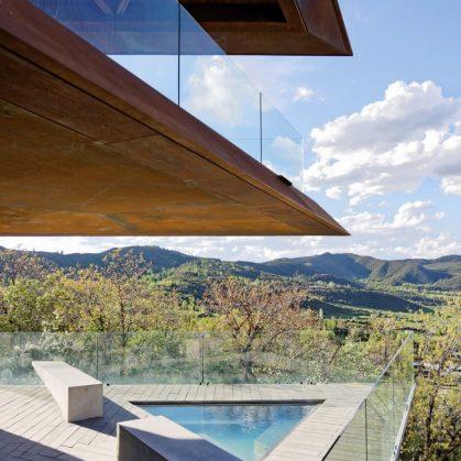 Owl Creek, una casa entre el cielo y las montañas 6