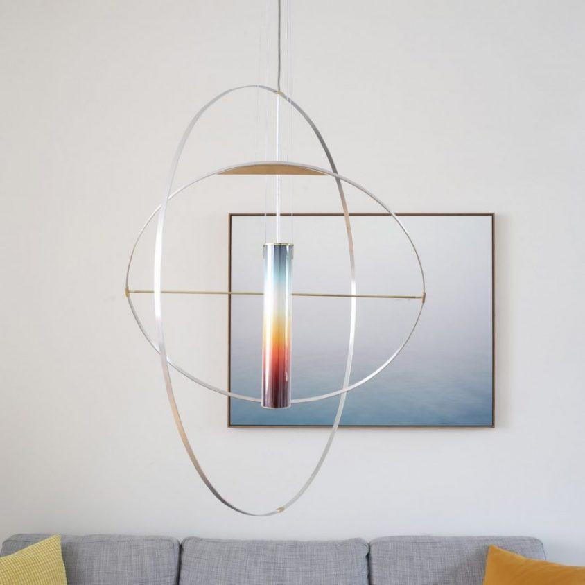 La puesta del sol en una lámpara 9