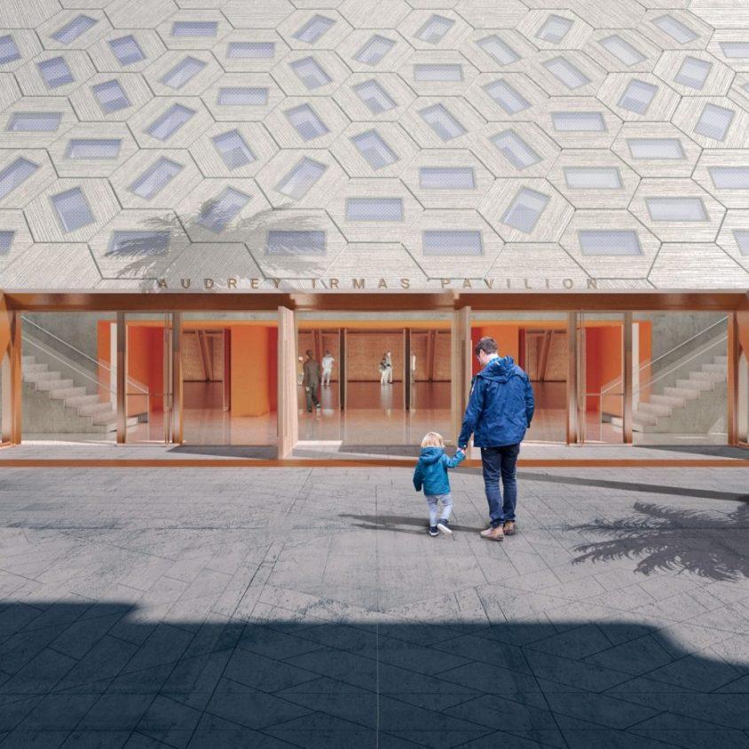 Comenzó la construcción del Audrey Irmas Pavilion 5