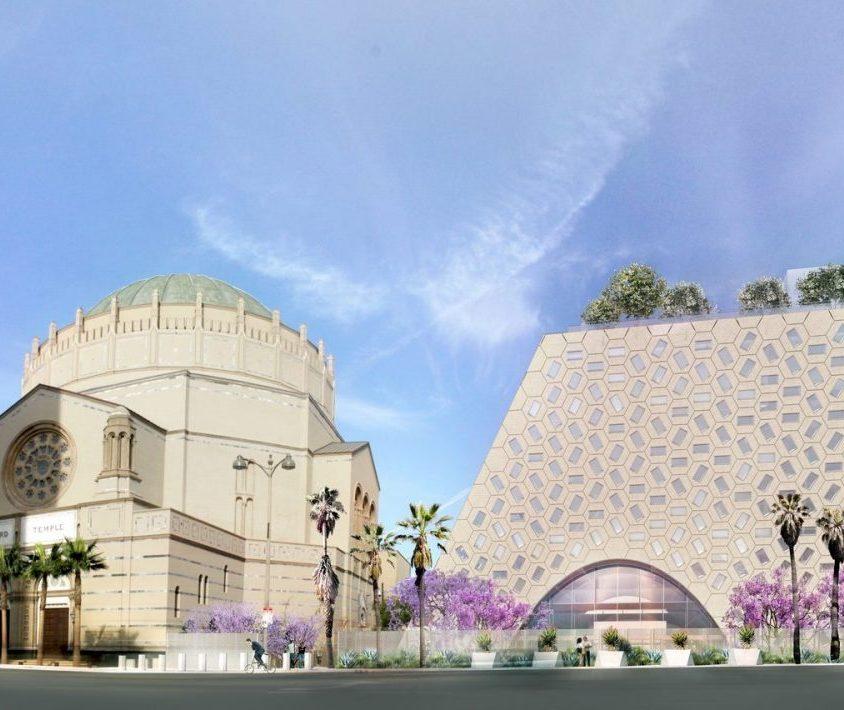 Comenzó la construcción del Audrey Irmas Pavilion 4