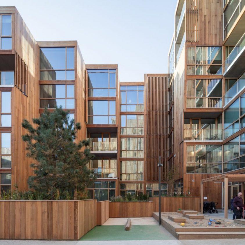 La madera y el vidrio son los protagonistas de 79 & Park 15