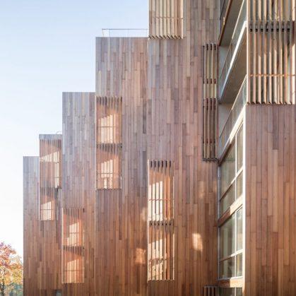 La madera y el vidrio son los protagonistas de 79 & Park 17