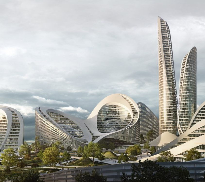 El proyecto de ciudad inteligente de Zaha Hadid Architects 3