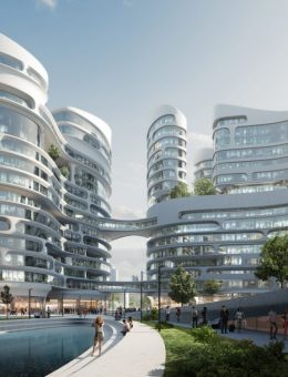 El proyecto de ciudad inteligente de Zaha Hadid Architects 6