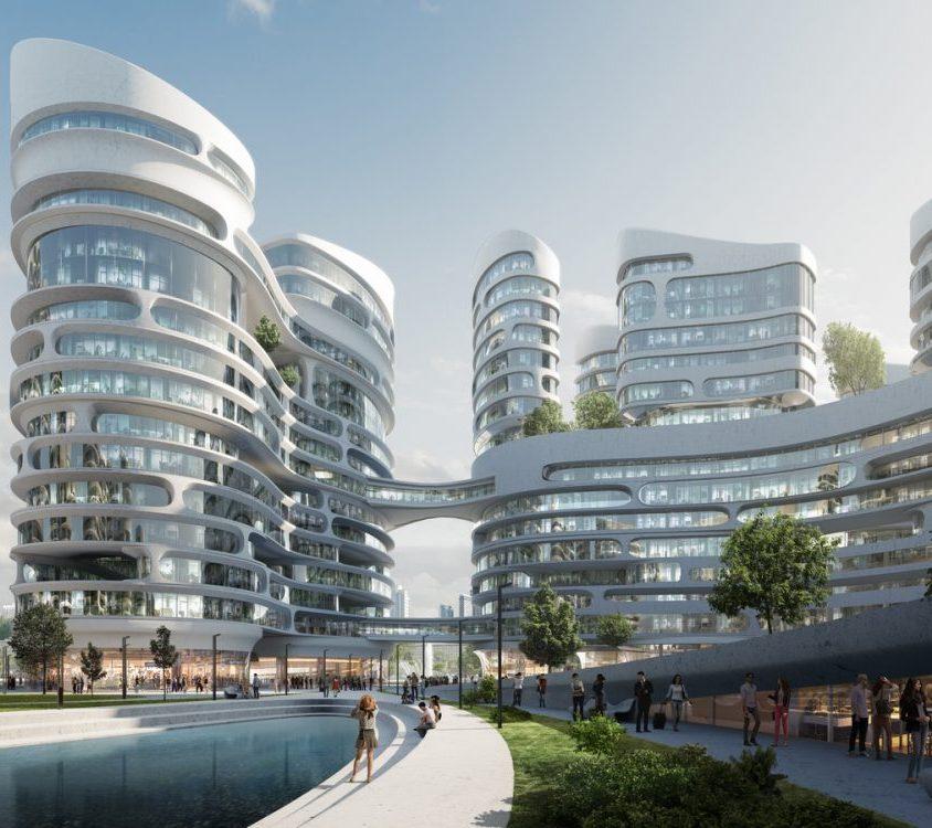 El proyecto de ciudad inteligente de Zaha Hadid Architects 4