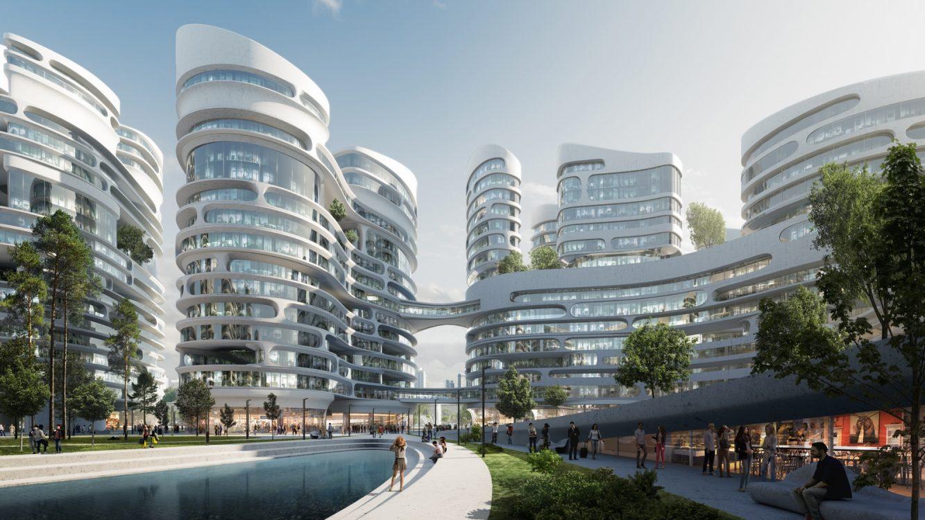 El proyecto de ciudad inteligente de Zaha Hadid Architects 5