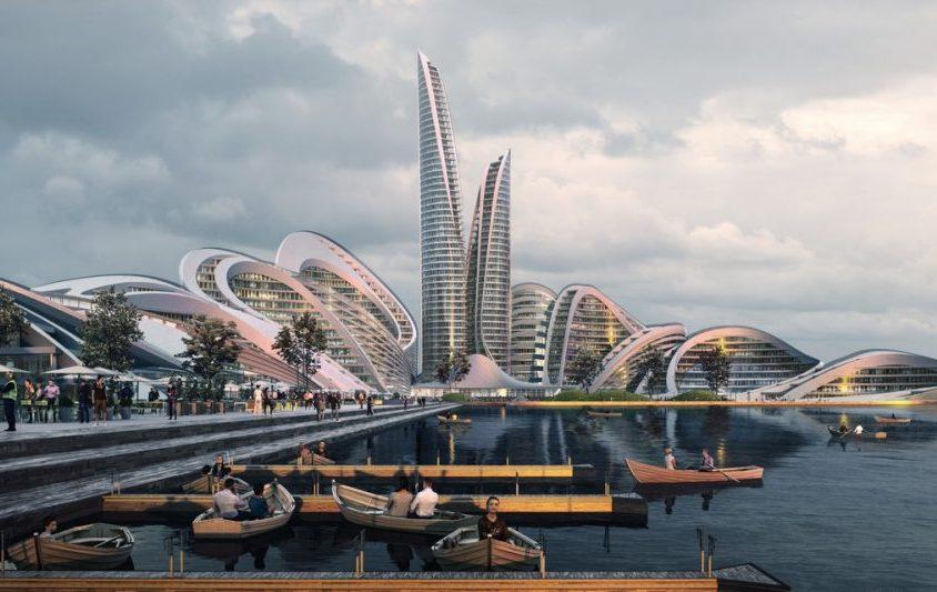 El proyecto de ciudad inteligente de Zaha Hadid Architects 2