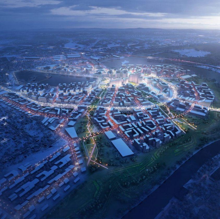 El proyecto de ciudad inteligente de Zaha Hadid Architects 1