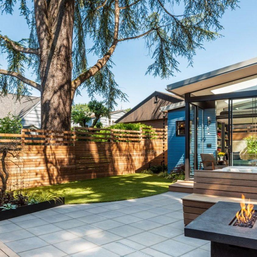 Un oasis en el patio de casa 5