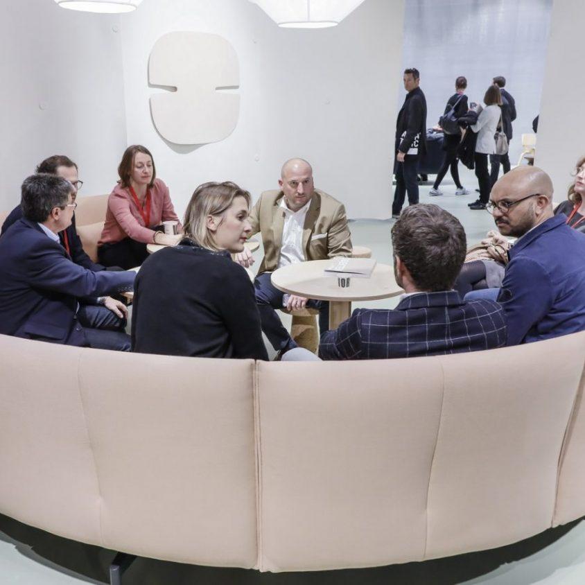 El mundo laboral moderno en Orgatec 2018 2