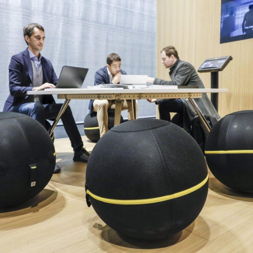 El mundo laboral moderno en Orgatec 2018 19