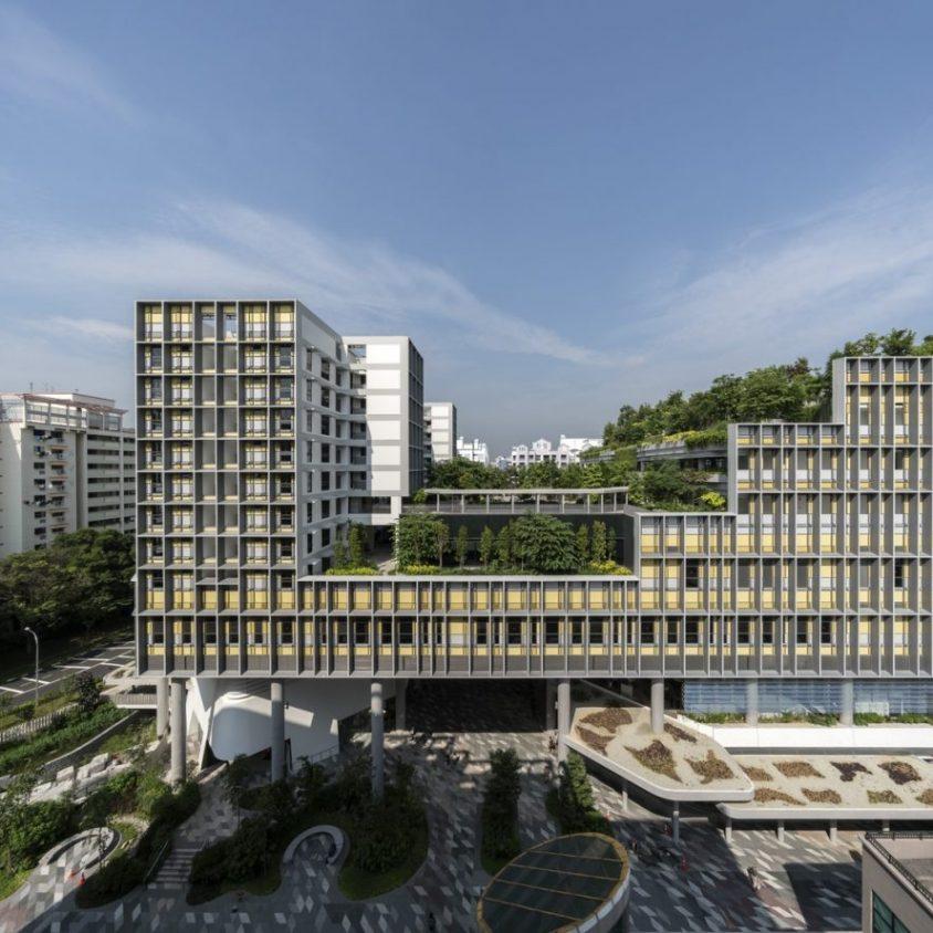 Un complejo público llamado Kampung Admiralty 1