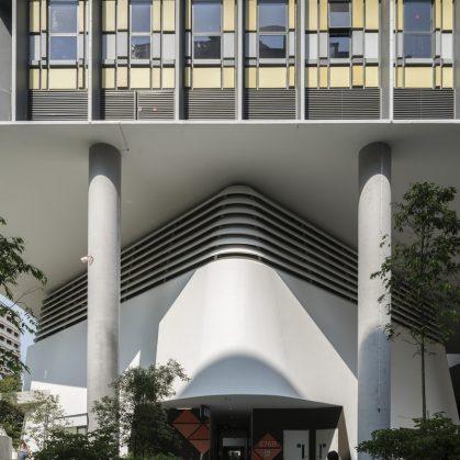 Un complejo público llamado Kampung Admiralty 13