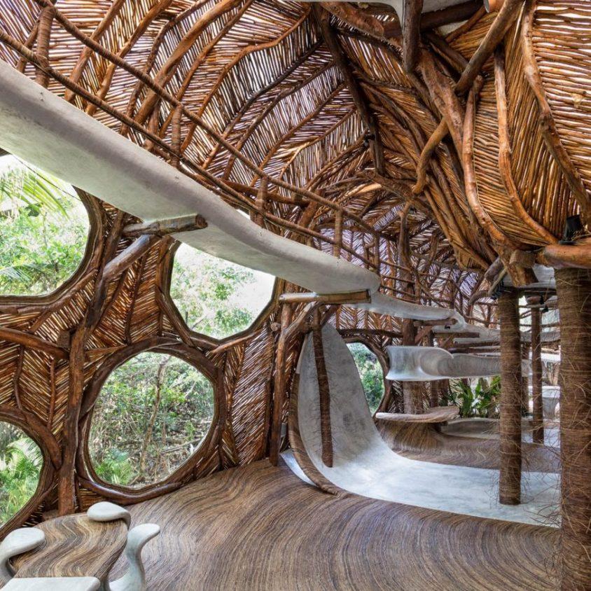 Un centro cultural en la selva maya 4