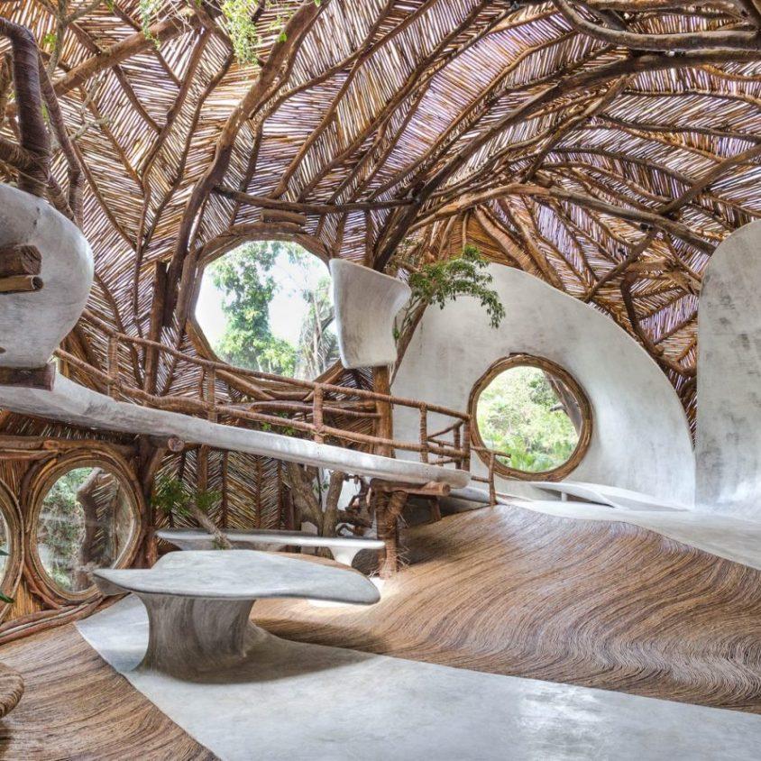 Un centro cultural en la selva maya 1