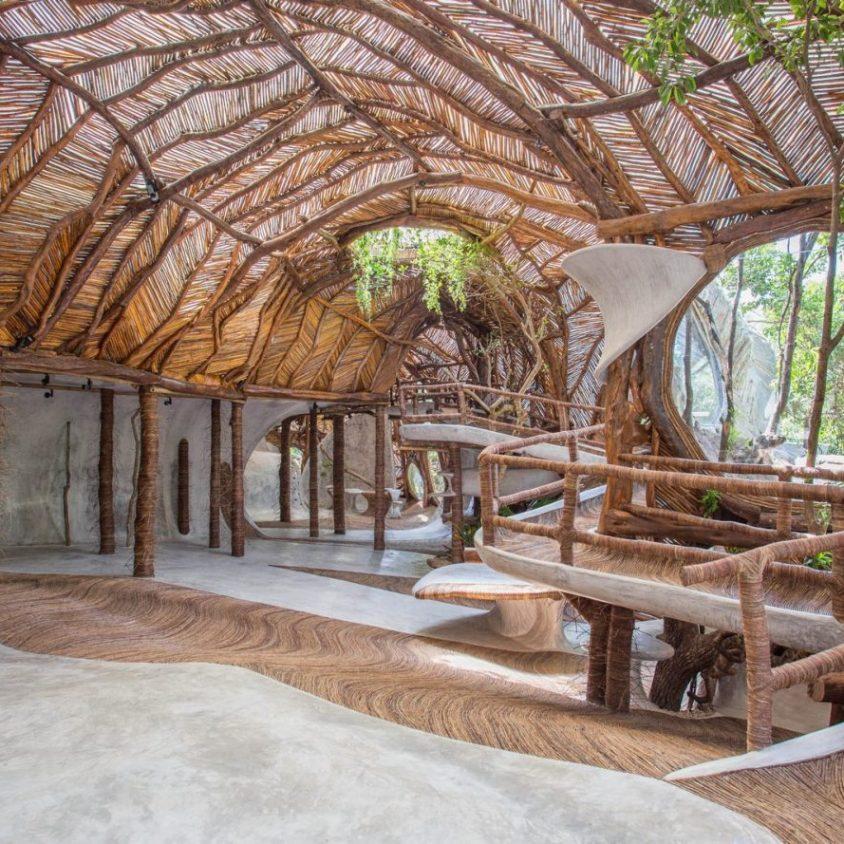 Un centro cultural en la selva maya 3
