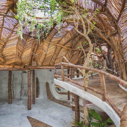 Un centro cultural en la selva maya 11
