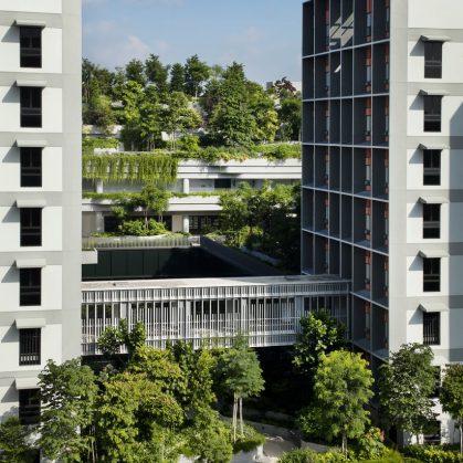 Un complejo público llamado Kampung Admiralty 6