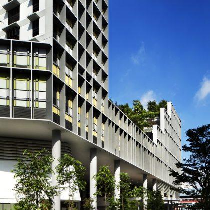Un complejo público llamado Kampung Admiralty 7