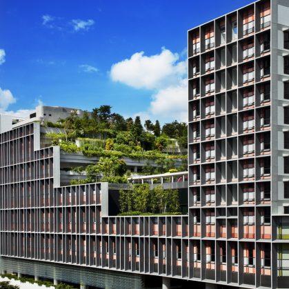 Un complejo público llamado Kampung Admiralty 8