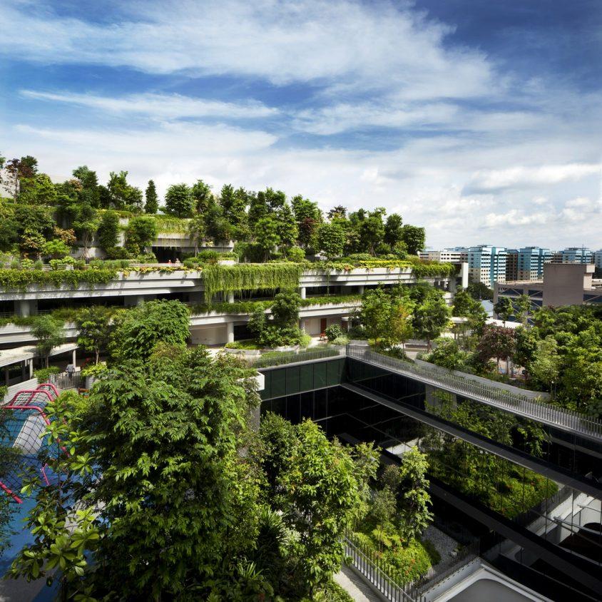 Un complejo público llamado Kampung Admiralty 15