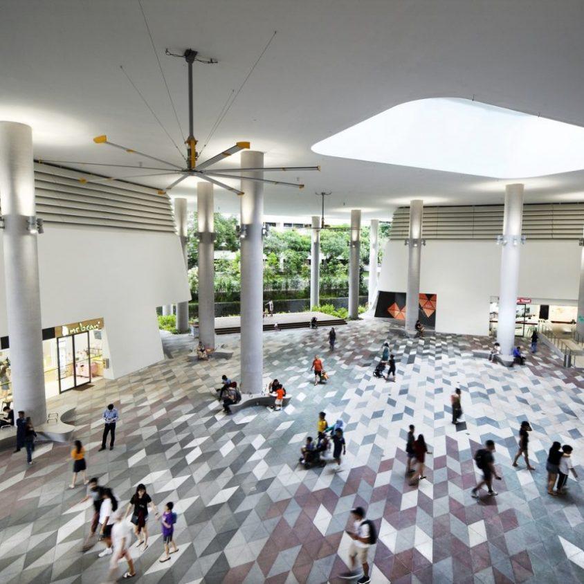 Un complejo público llamado Kampung Admiralty 9