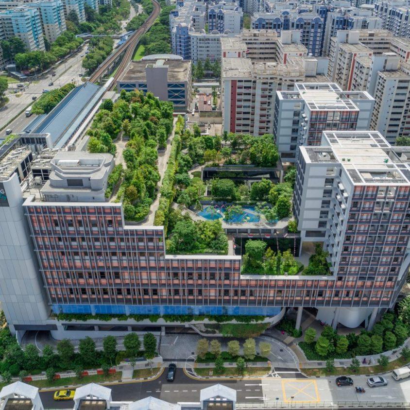 Un complejo público llamado Kampung Admiralty 2