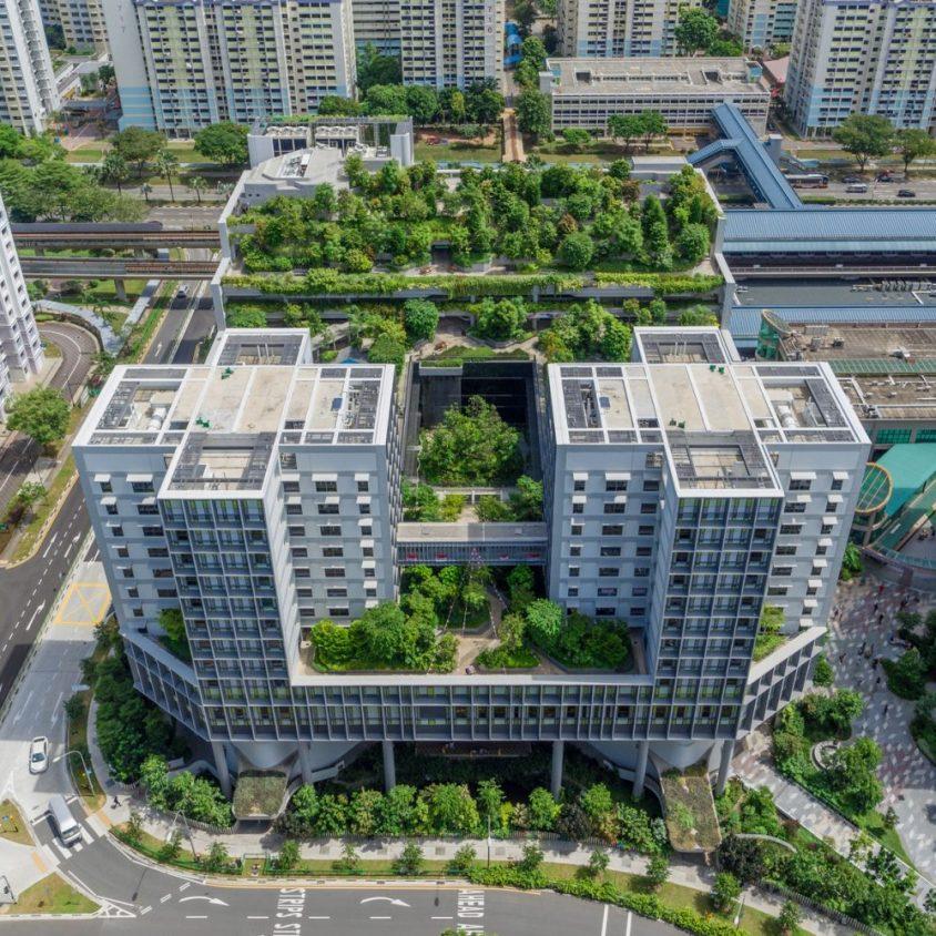 Un complejo público llamado Kampung Admiralty 5