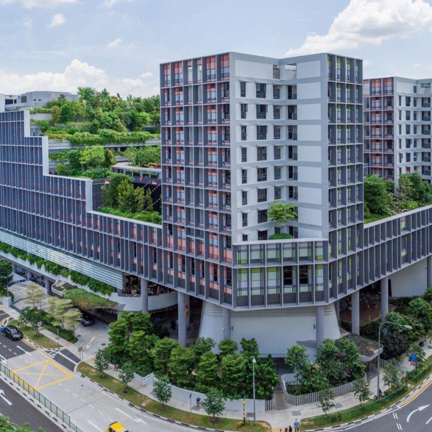 Un complejo público llamado Kampung Admiralty 4