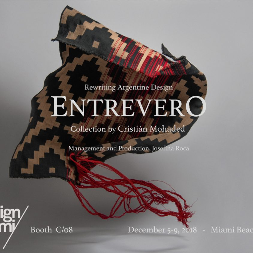 """Entrevero"" en Design Miami 1"