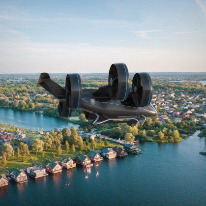 El taxi aéreo de Bell 3