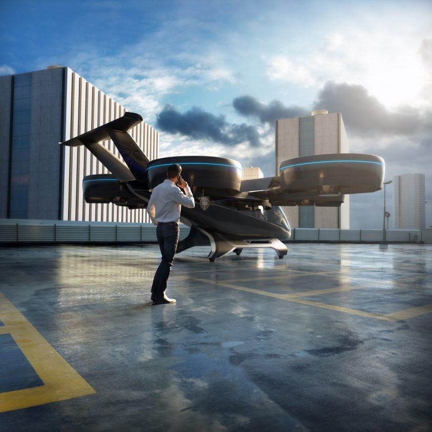 El taxi aéreo de Bell 1