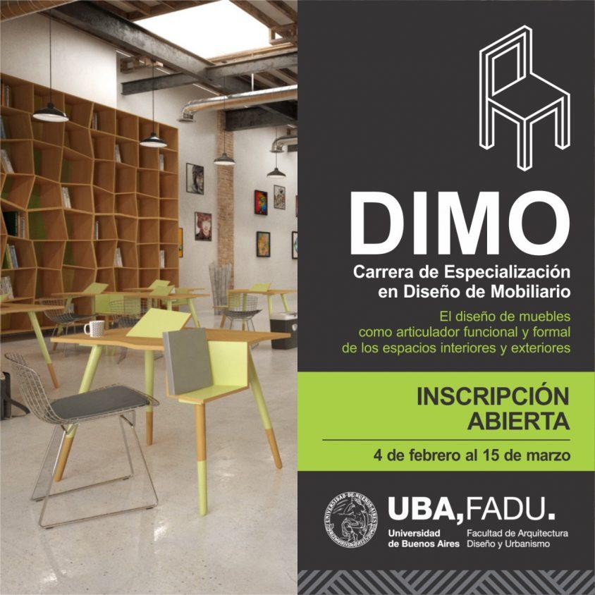 Posgrado: Diseño de Mobiliario (DIMO) 1