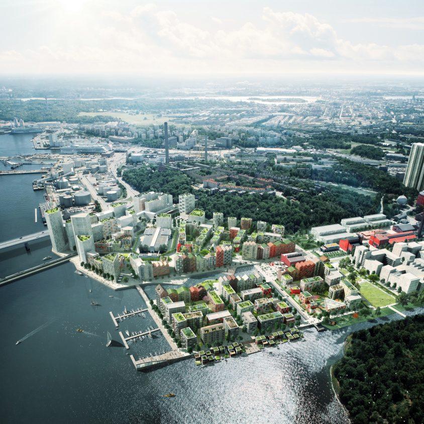 Un vecindario real en el puerto 3