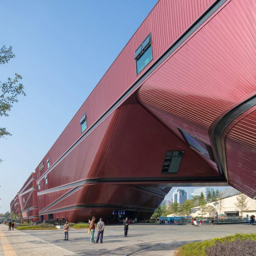 El extenso centro cultural Longgang 2