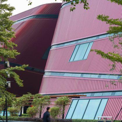 El extenso centro cultural Longgang 5