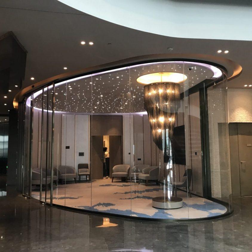 Shimao, un hotel de lujo en una cantera 10