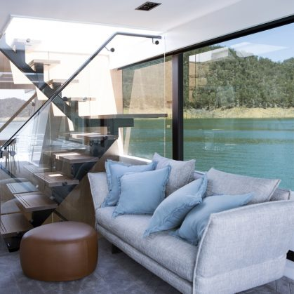 Una casa flotante de lujo 9