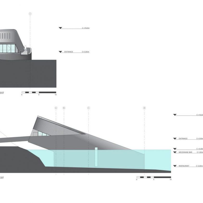 El restó submarino Under está listo para servir 10