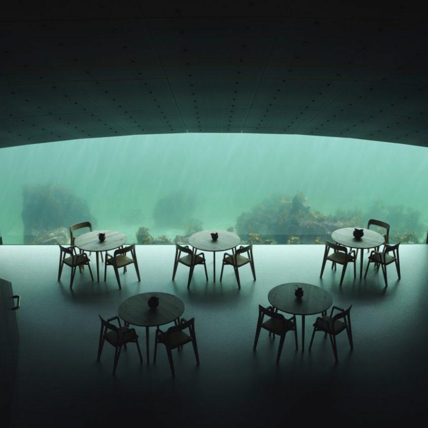 El restó submarino Under está listo para servir 18