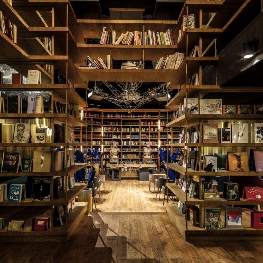 Un espacio multifuncional a partir de una biblioteca 10