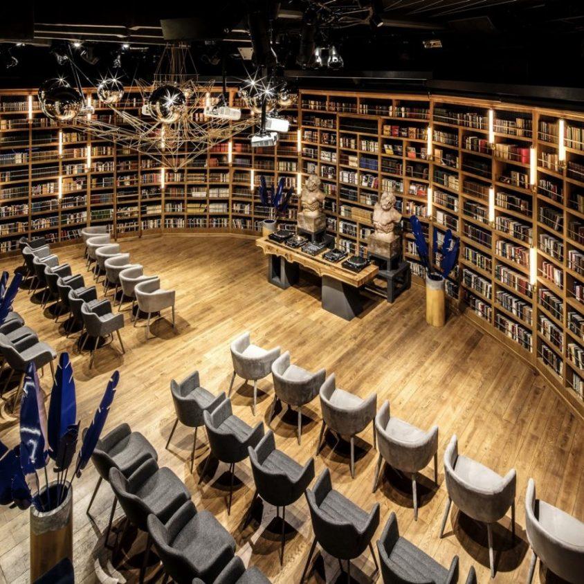 Un espacio multifuncional a partir de una biblioteca 1