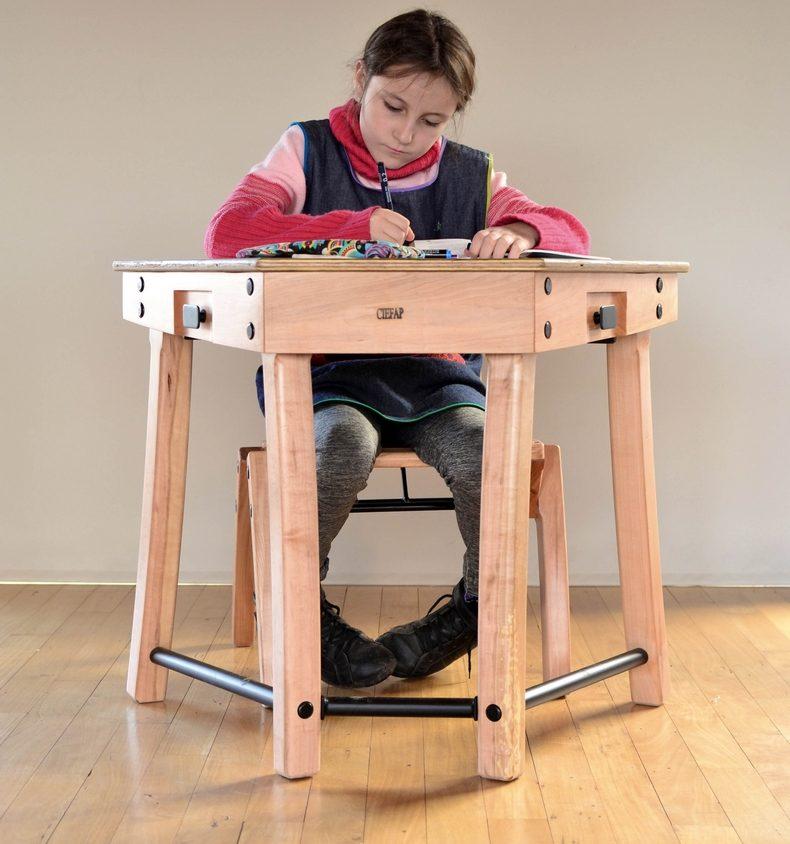 """Mobiliario escolar """"Tierra del Fuego"""" 12"""