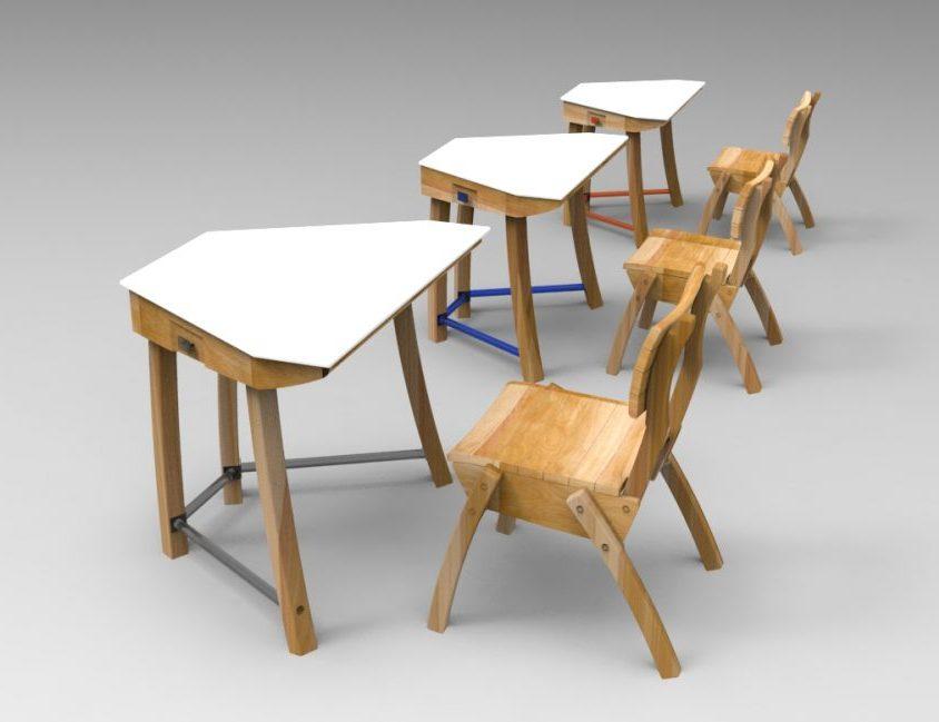 """Mobiliario escolar """"Tierra del Fuego"""" 2"""