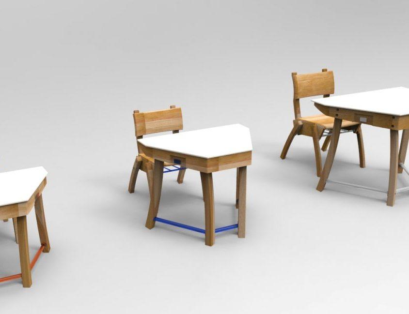 """Mobiliario escolar """"Tierra del Fuego"""" 3"""