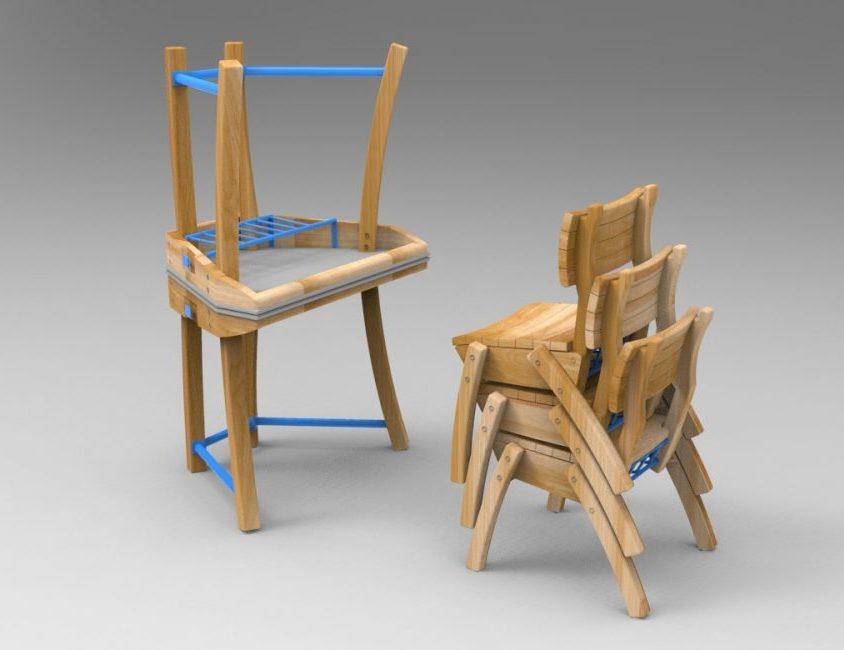 """Mobiliario escolar """"Tierra del Fuego"""" 16"""