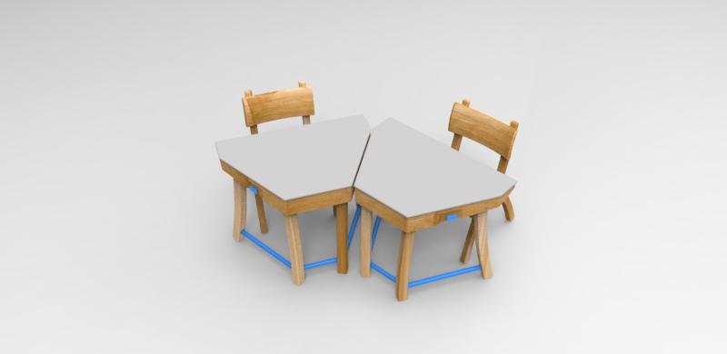 """Mobiliario escolar """"Tierra del Fuego"""" 4"""
