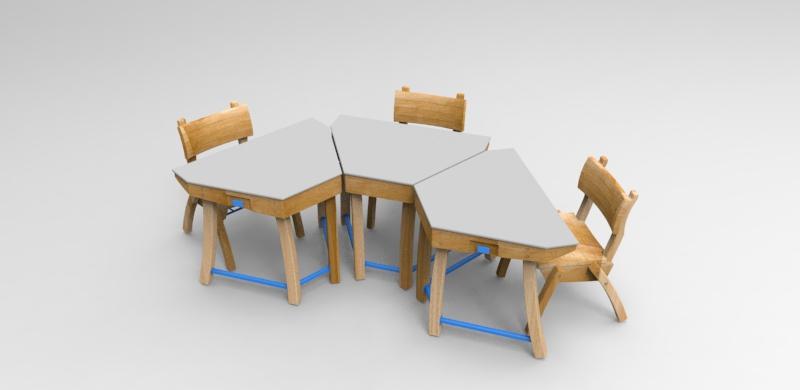 """Mobiliario escolar """"Tierra del Fuego"""" 5"""