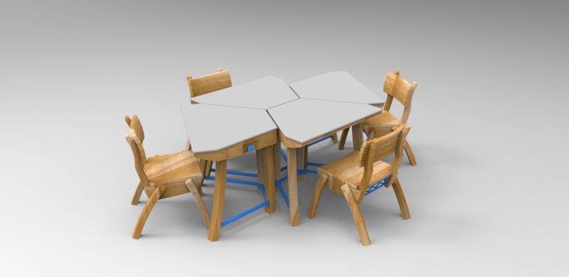 """Mobiliario escolar """"Tierra del Fuego"""" 6"""